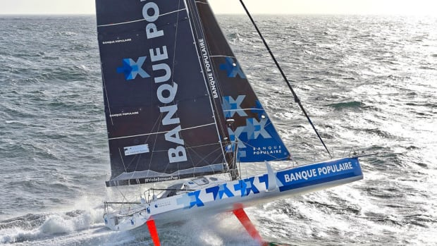 Banque Populaire VIII is one of six brand-new boats that will be lining up at the start