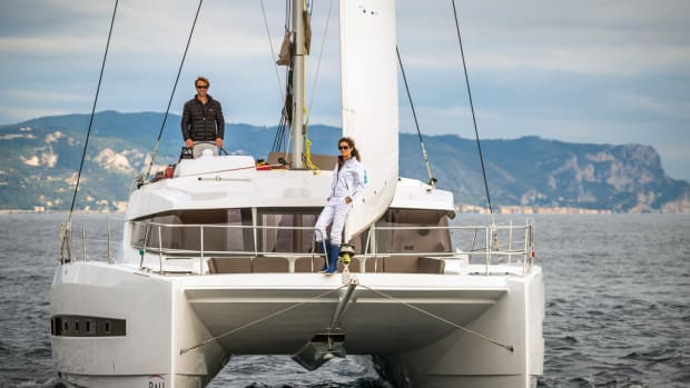 The latest innovative cruiser from the veteran builder Catana