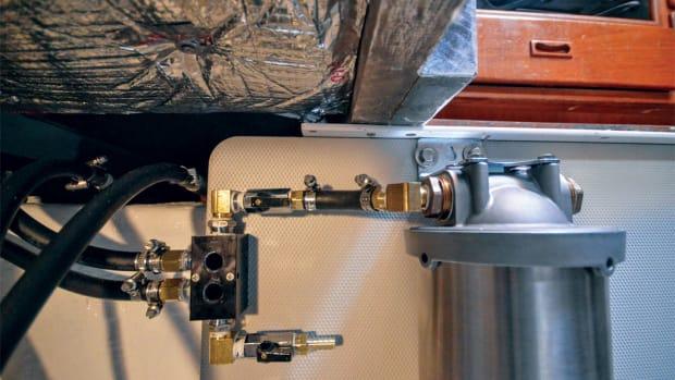 fuel filtering system