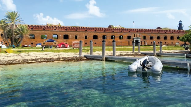 Dinghy Dock at Fort Jefferson, Dry Tortugas National Park