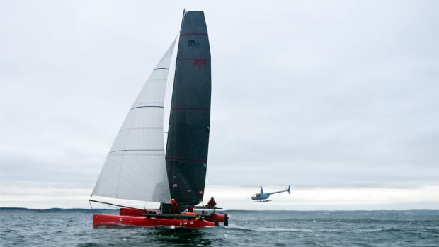 Team Mad Dog blasted up the 750-mile course to win easily