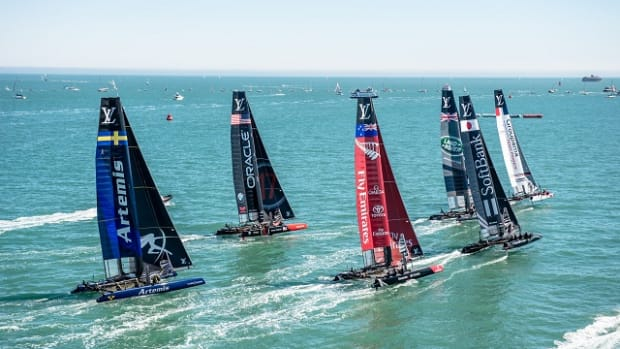 23/07/16 - Portsmouth (UK) - 35th America's Cup Bermuda 2017 - Louis Vuitton America's Cup World Series Portsmouth - Racing Day 1