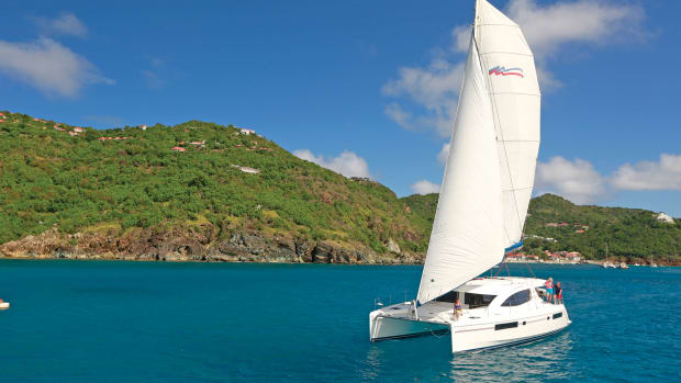 Bareboats are just that—bare. Photo courtesy of courtesy of The Moorings