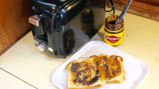 Vegemite on toast—an irresistible sailing snack?