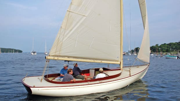 A sensuous new daysailer based on Herreshoff's famous Alerion