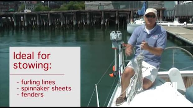 Sail Magazine's Essential Sailing Knots How to Tie a Clove Hitch