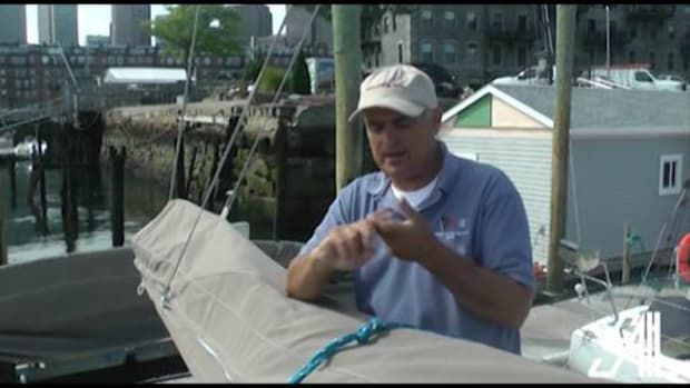 Sail Magazine's Essential Sailing Knots Square Knot and Sheet Bend
