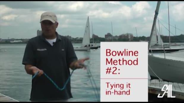 Sail Magazine's Essential Sailing Knots the Bowline