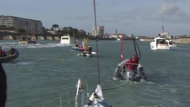 Colman Finishes Vendée Globe video