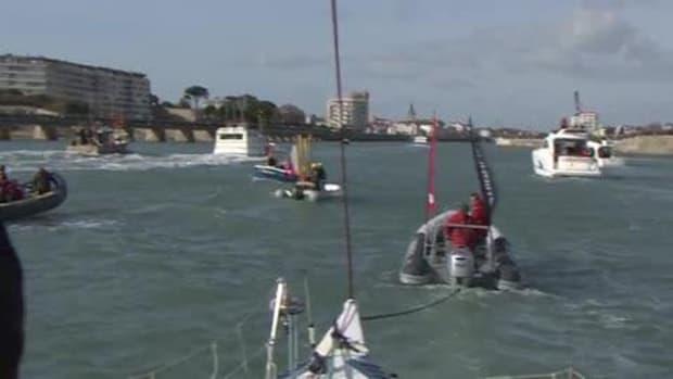 Colman Finishes Vendée Globe video