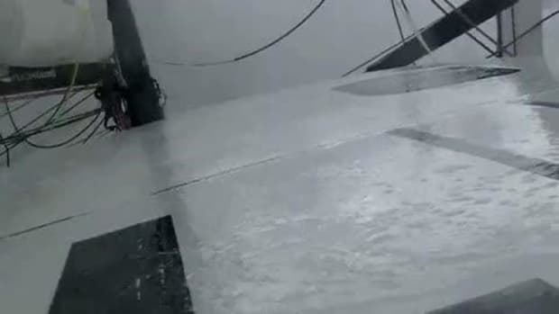 Battling a Southern Ocean Storm—Vendee Globe