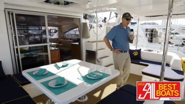 SAIL Magazine Boat Review Leopard 48