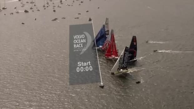 Volvo Ocean Race Gothenburg In-Port Race in 192 seconds _ Volvo Ocean Race