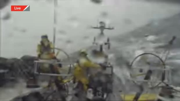 Live Replay - Brunel North Sea _ Volvo Ocean Race
