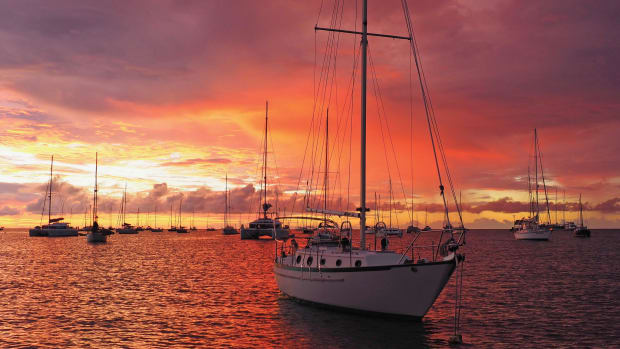 Sunset-Tyrrel-Bay
