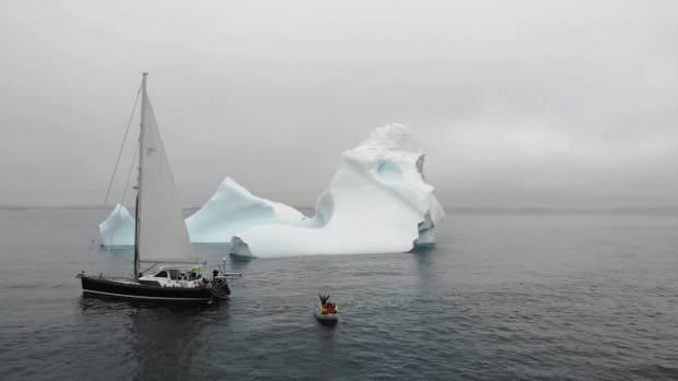1ST ICEBERG ENCOUNTER