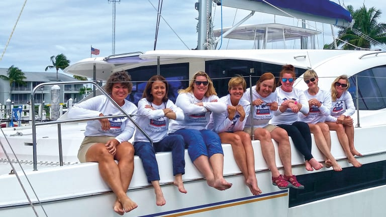 Sharpening Sailing Skills on a Women-only Course