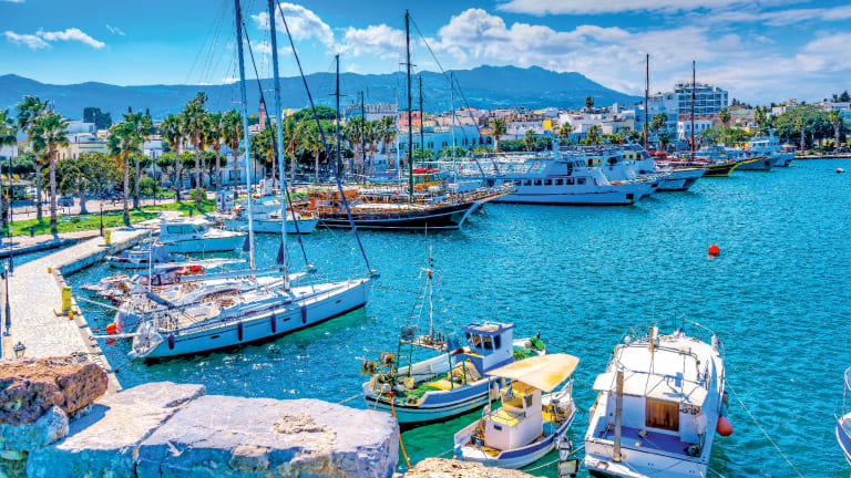 A Troubled Cruise to the Aegean Sea