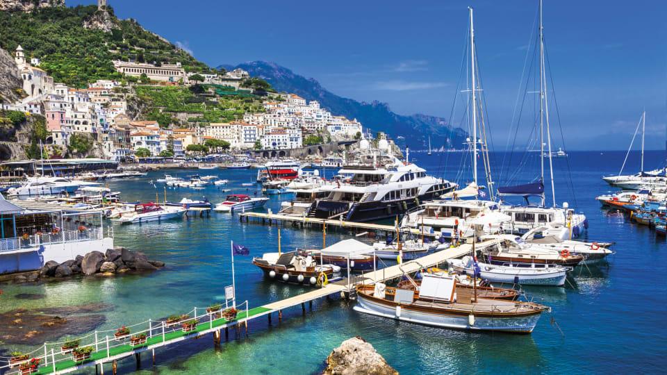 Charter Destination: Amalfi Coast