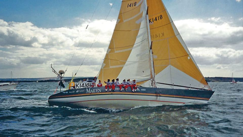 Making Maiden and the 1989-90 Whitbread Race