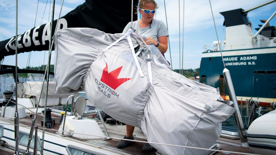 Sail Inventories for Ocean Racing