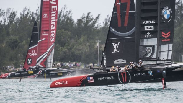 24/06/2017 - Bermuda (BDA) - 35th America's Cup 2017 - 35th America's Cup Match Presented by Louis Vuitton, Day 3
