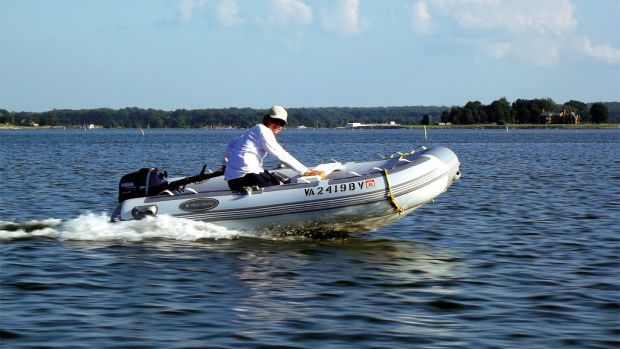 A rigid-bottom inflatable with a powerful outboard is the tender of choice for many cruisers