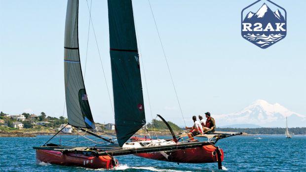 Mad Dog cruises through the San Juan Islands