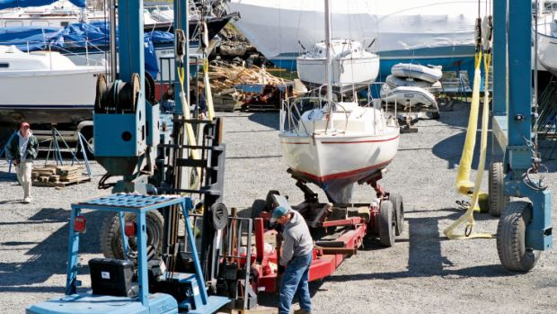 It's important to cultivate a good relationship with your boatyard