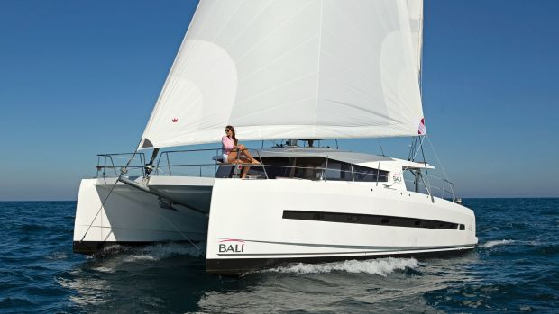 A new approach to cruising comfort from a performance cat builder