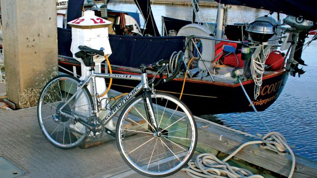 Bikes are a great asset for exploring a new port of call, but stowing them onboard can be difficult