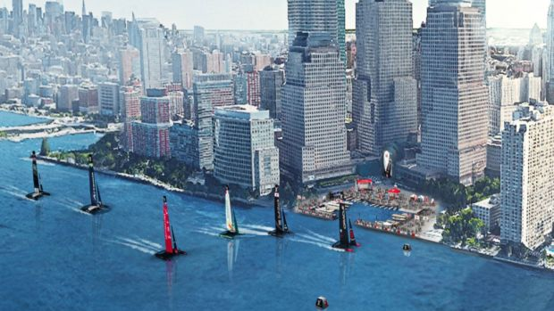 AC action is coming back to the Big Apple. Photos courtesy of America's Cup