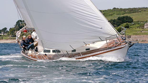 A true world-girdling cruising yacht