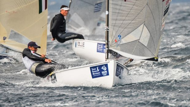Caleb Paine will represent the U.S. in the Finn class. Photo by Jen Edney/US Sailing