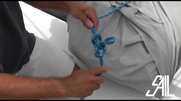Sail Magazine's Essential Sailing Knots Linesman Loop