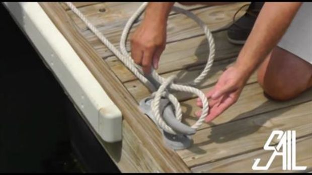 SAIL Magazine's Essential Sailing, Knots- How to Tie a Cleat Hitch
