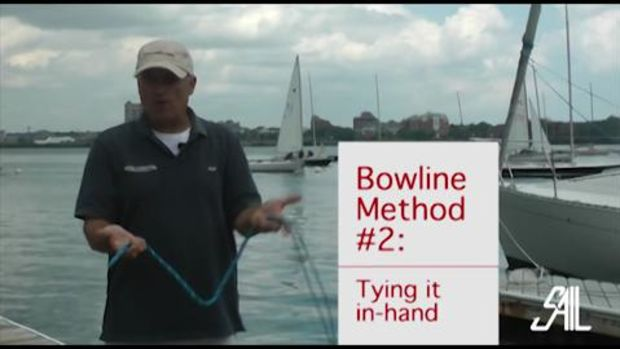Sail Magazine's Essential Sailing Knots the Bowline