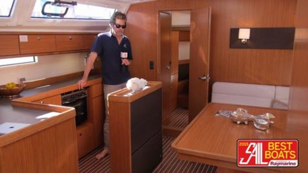 SAIL Magazine's Best Boats 2015 Bavaria Cruiser 46