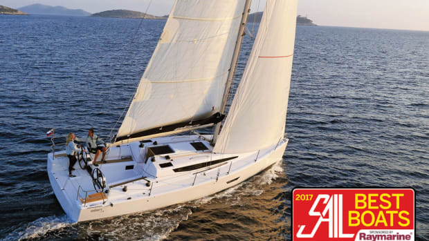 Elan E4: Best Monohull Cruising Boat 30 to 40ft