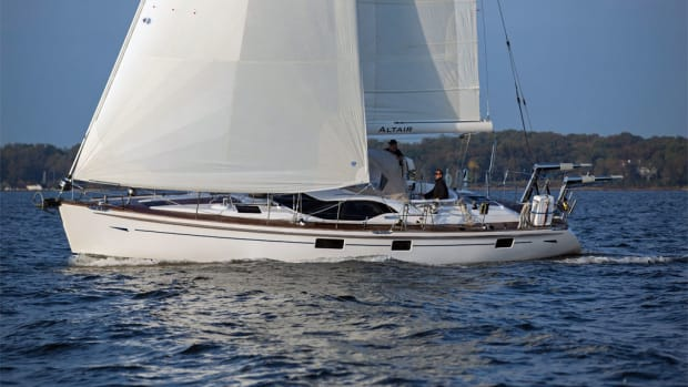 An entry-level world cruiser from a respected British builder
