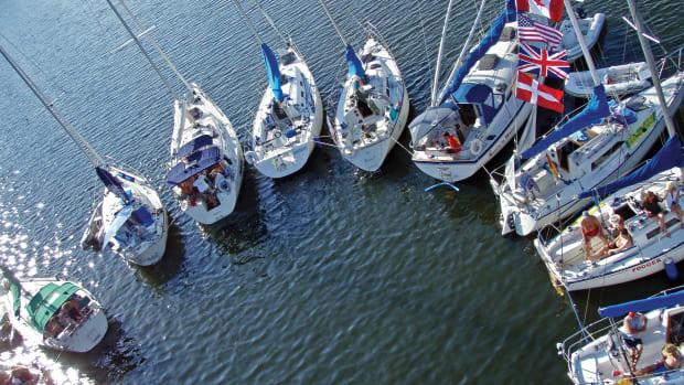 A flotilla of LOWISA boats