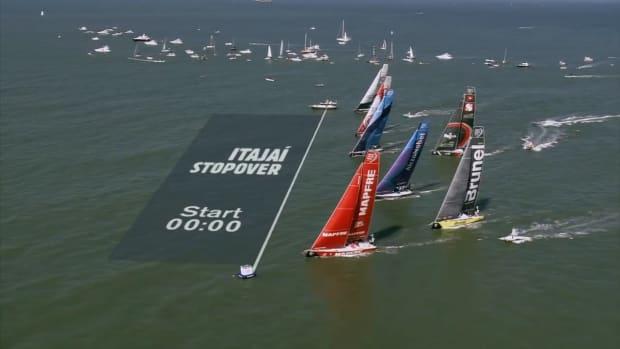 180426-Leg 8 Start _Volvo Ocean Race