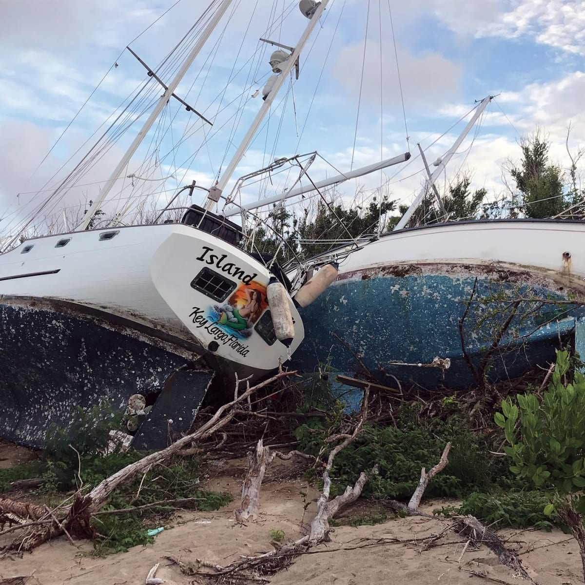 Know How Purchasing A Storm Damaged Boat Sail Magazine