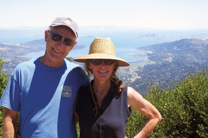 The author and her husband, Neil, have been cruising fulltime for more than a decade