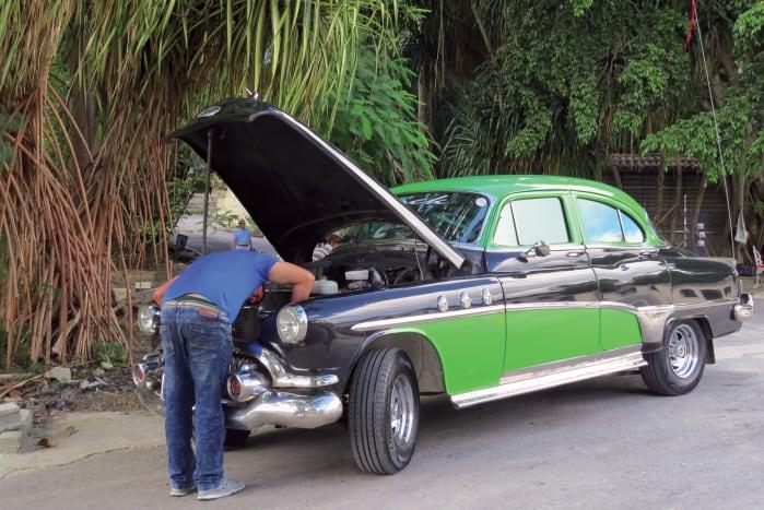 Making an old car new again