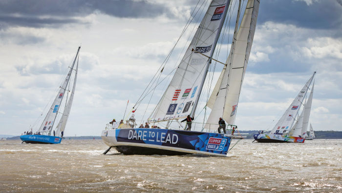 Make no mistake, the Clipper Race is a hardcore bluewater competition for amateur sailors
