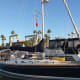 Intuition waits at the San Diego Yacht Club for the start of the 2014 Baja Ha-Ha