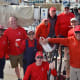 Team Ursus Maritimus at the dock on Nantucket