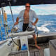 Ralph enjoys another excellent day's sailing