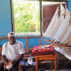 Bequia is famous for its model whaleboats